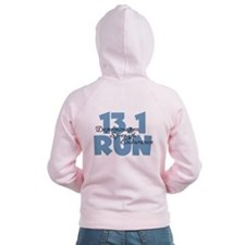 13.1 Run Blue Zip Hoody