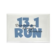 13.1 Run Blue Rectangle Magnet (10 pack)