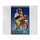 Bicycle vintage Fleece Blankets