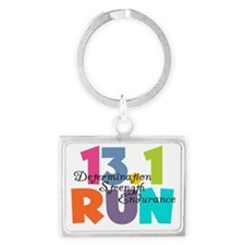 13.1 Run Multi-Colors Landscape Keychain
