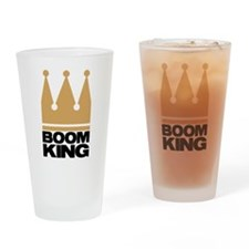 BOOMKING4.png Drinking Glass