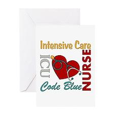 ICU Nurse Greeting Card