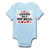Loved: Pit Bull Onesie