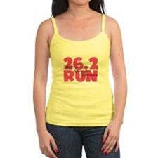 26.2 Run Pink Jr.Spaghetti Strap