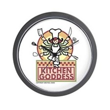Unique Cooks Wall Clock