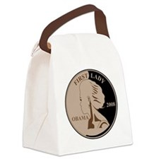 First Lady Coin,  Canvas Lunch Bag