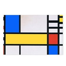 MONDRIAN 1 Postcards (Package of 8)