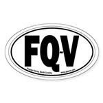 Fuquay-Varina, North Carolina Oval Sticker