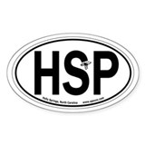 Holly Springs, North Carolina Oval Car Decal