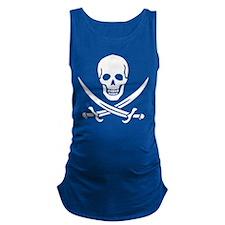 Skull_Calico_Jack.png Maternity Tank Top