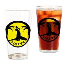 New Marron Yellow Drinking Glass
