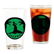 Neg Marron, green Drinking Glass