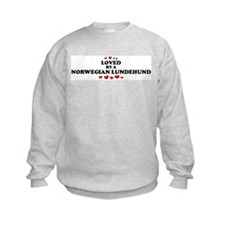 Loved: Norwegian Lundehund Sweatshirt