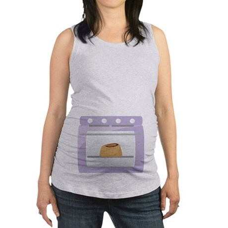 Bun In The Oven Pregnancy Maternity Tank Top