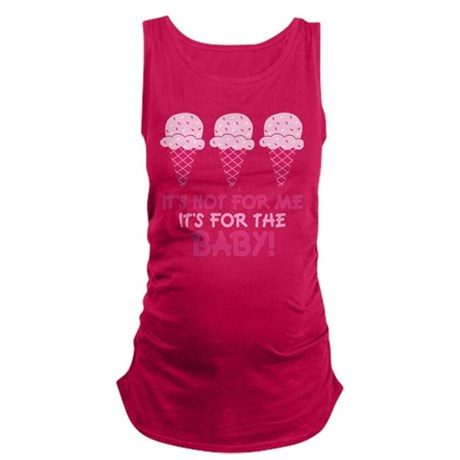ice cream for the baby.png Maternity Tank Top