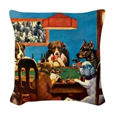 A Friend in Need Woven Throw Pillow