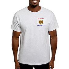 Proud to be a Desert Medic Ash Grey T-Shirt