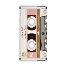 Cassette Tape - Tan Beach Towel