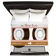 Cassette Tape - Tan King Duvet