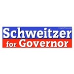 Schweitzer for Governor Bumper Sticker