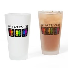 Rainbow Whatever Drinking Glass