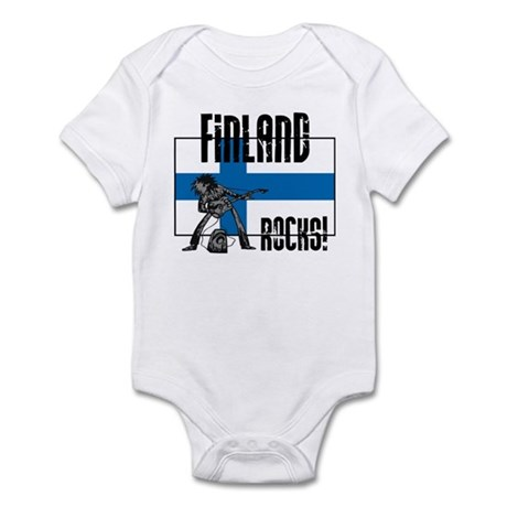 Finland Rocks Infant Bodysuit