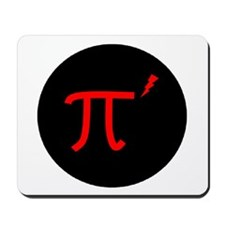 """Pi prime"" Pirate Logo Mousepad"