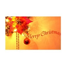 Gold merry-christmas- Wall Decal