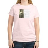 Grandmother Says 9 Women's Pink T-Shirt