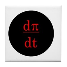 dPi/dt Pirates Tile Coaster