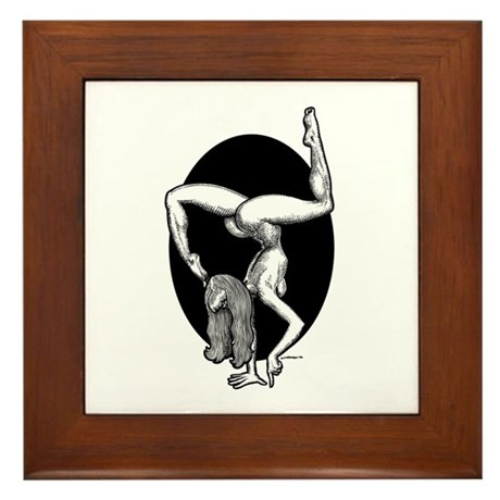 Handstand Framed Tile