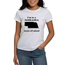 Im In A Nebraska State Of Mind T-Shirt