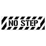 Not Step Bumper  Bumper Sticker