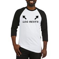 Leg Rests Baseball Jersey