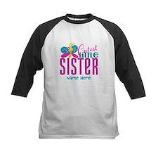 Custom Cutest Little Sister Tee