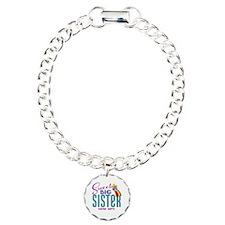 Custom Sweet Big Sister Owl Bracelet