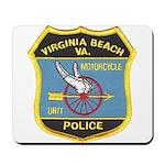 Virginia Beach PD Motors Mousepad