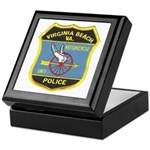 Virginia Beach PD Motors Keepsake Box