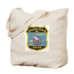 Virginia Beach PD Motors Tote Bag