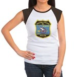 Virginia Beach PD Motors Women's Cap Sleeve T-Shir