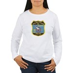 Virginia Beach PD Motors Women's Long Sleeve T-Shi