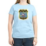 Virginia Beach PD Motors Women's Pink T-Shirt
