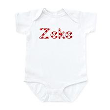 Zeke - Candy Cane Infant Bodysuit