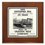 Grahams Dairy Framed Tile