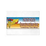 Pathfinder Construction 5'x7'Area Rug