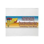 Pathfinder Construction Throw Blanket