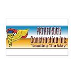 Pathfinder Construction Rectangle Car Magnet