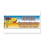 Pathfinder Construction Car Magnet 20 x 12