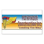 Pathfinder Construction Sticker (Rectangle 10 pk)