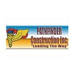 Pathfinder Construction 35x21 Wall Decal